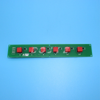 GongZheng printer 3206DS spare parts press button board key board for seiko printhead