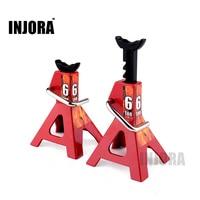 2PCS RC Crawler 1 10 Accessories Metal Jack Stand Repairing Tool For Axial SCX10 Tamiya CC01