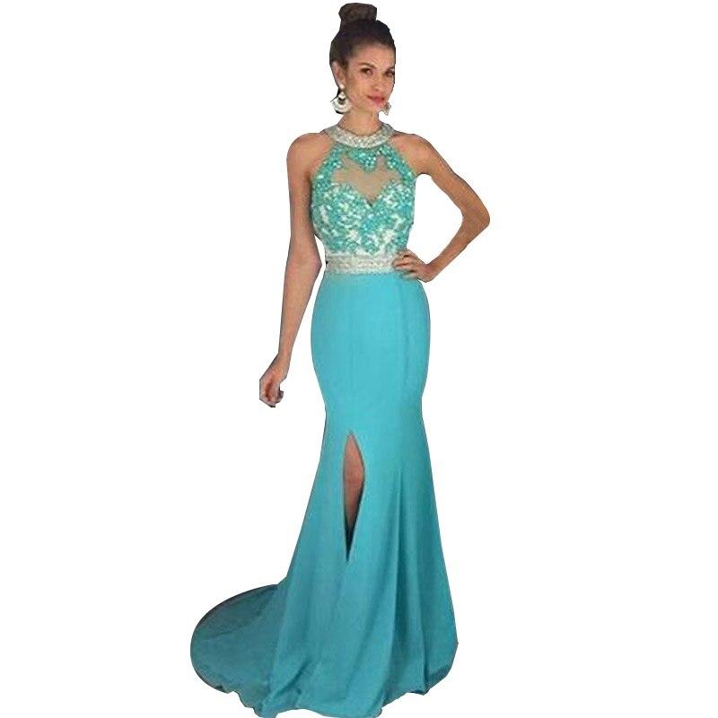 Aliexpress.com : Buy HotQueen Turquoise Mermaid Prom dresses 2017 ...
