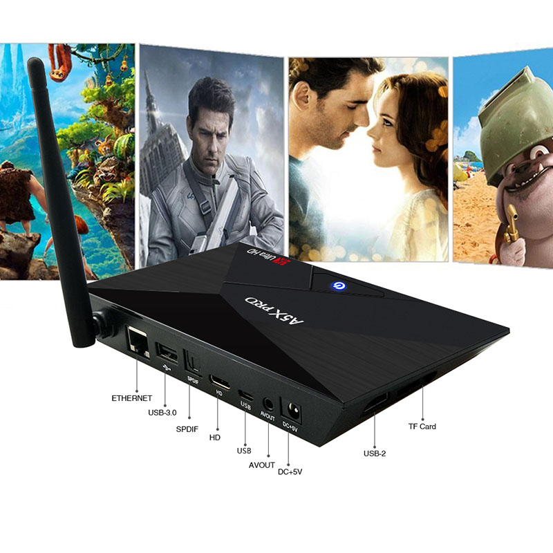 Dual Band Wireless HD WiFi Set-top TV Box TV Box Android 7.1 Internet TV Box 2G+16G Smart RK3328 4K Quad Core IPTV Media Player цена и фото