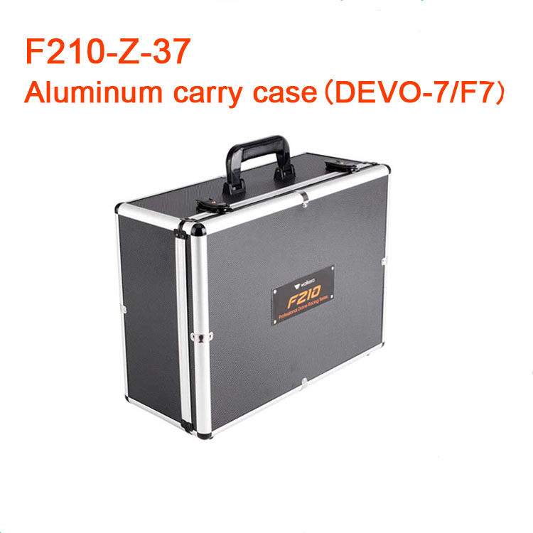 ФОТО Walkera Walkera F210  /  F210 3D  Quadcopter Aluminum Box Carry Bag Protective Alu Case  F210-Z-37