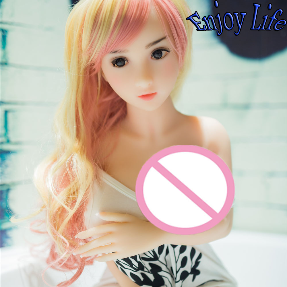 Buy 100cm blond hair Small Mouth Smooth Skin Lovely Dress Smell TPE Sex Dolls Men,  Japanese Lifelong Companion Sexual Dolls