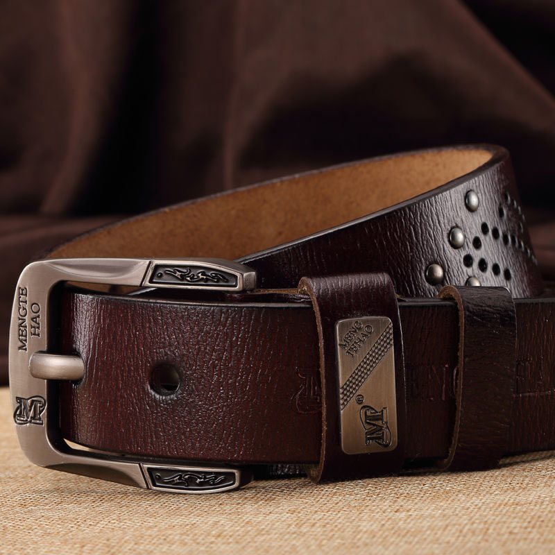 Men's Belts Brand Mens Fashion Luxury Mens Belts For Men Genuine Leather Belt For Male Designer Belts Cowskin High Quality Free Shipping