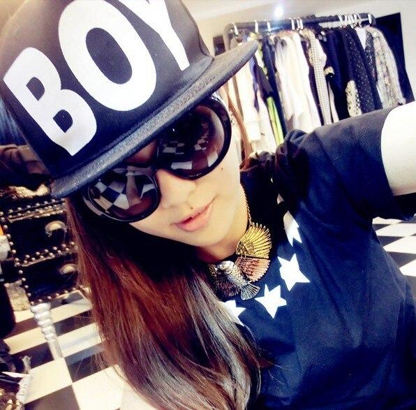Girls Hot Selling Hat Male Street Hiphop Hat Fashion Big Boy Baseball Cap Fashion Men -4084