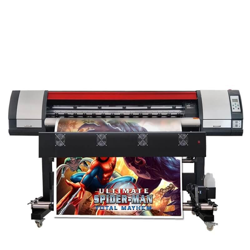 18 M6ft Flex Banner Druck Maschine Große Format Inkjet Lösungsmittel Vinyl Aufkleber Drucker Maschine
