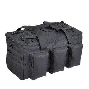 Image 1 - 야외 하이킹 배낭 55L 군사 팬 가방 캠핑 다목적 배낭 낚시 전술 휴대용 어깨 대용량