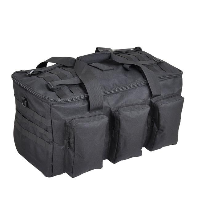 야외 하이킹 배낭 55L 군사 팬 가방 캠핑 다목적 배낭 낚시 전술 휴대용 어깨 대용량