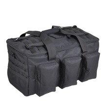 Açık yürüyüş sırt çantası 55L askeri Fan çantası kamp çok amaçlı sırt çantası balıkçılık taktik taşınabilir omuz büyük kapasiteli
