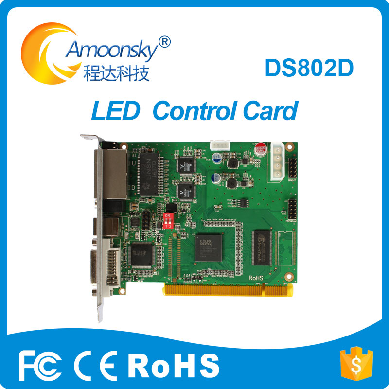Linsn sending card DS802D ds801d ds801 work with mrv336 receiving card for led display tv scrolling sign car outdoor displayLinsn sending card DS802D ds801d ds801 work with mrv336 receiving card for led display tv scrolling sign car outdoor display