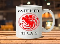 Mother Of Cats Game Of Thrones Mugs Cup Travel Beer Cup Porcelain Coffee Mug Tea Cups