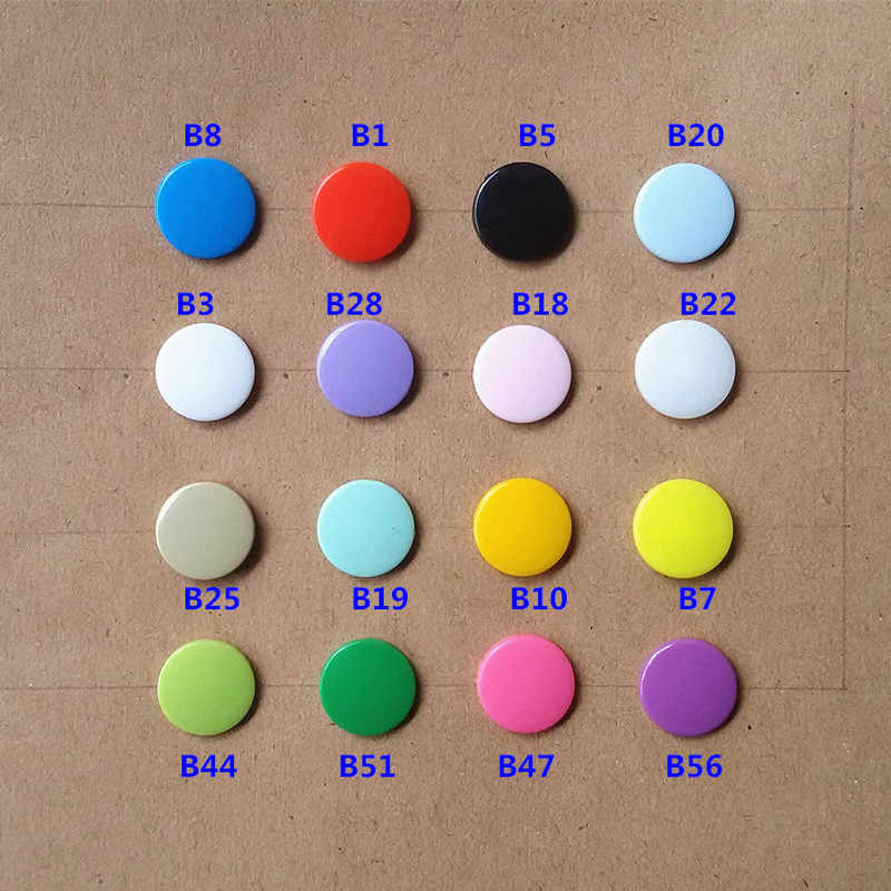 T5 12MM Round Plastic Snaps Button Fasteners Quilt Cover Sheet Button Garment Accessories for Baby Clothes Clips