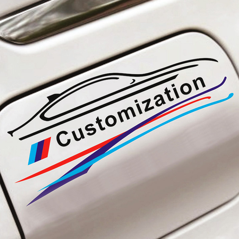 Car Styling Multimedia Audio Button Start Car Stickers Modified For