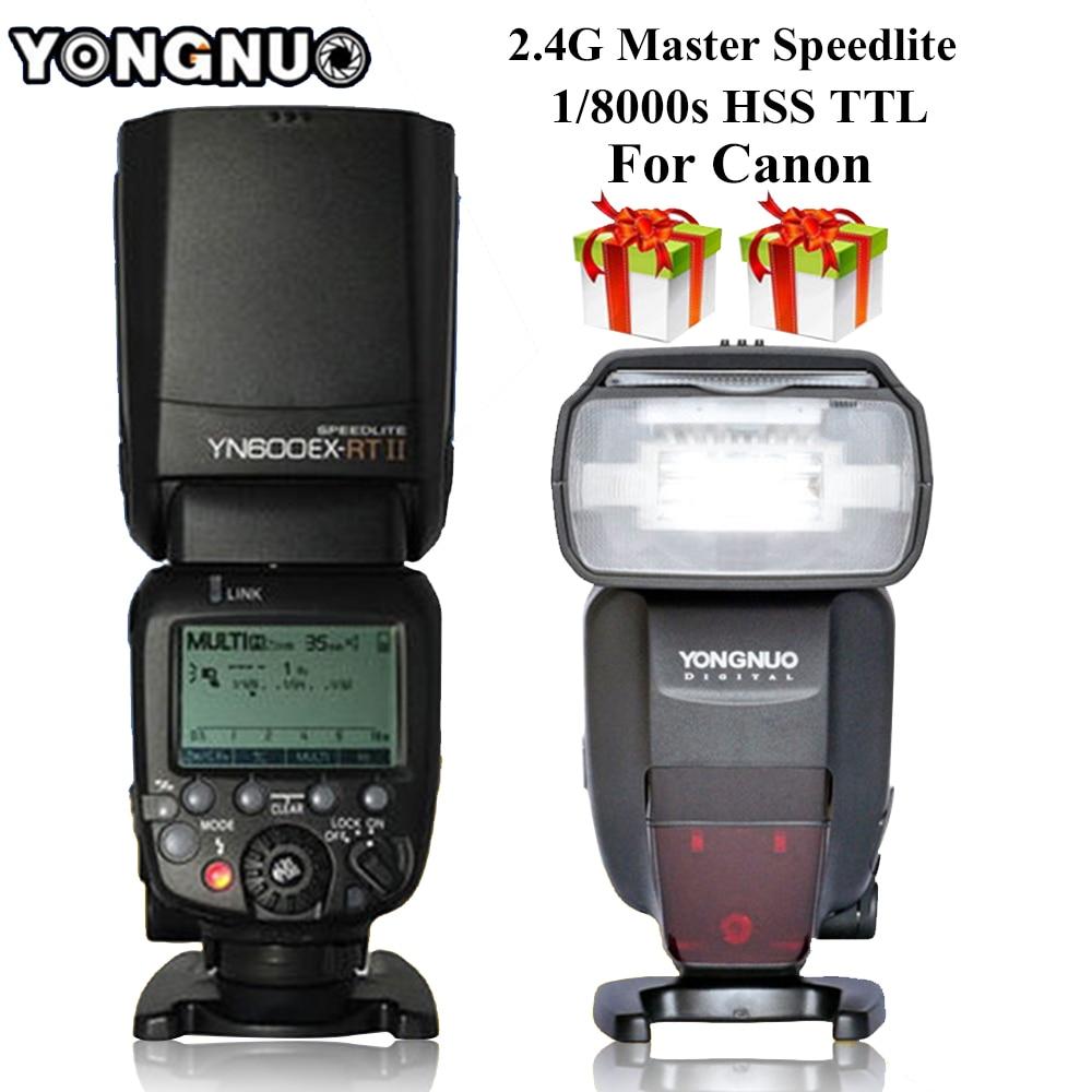 YONGNUO YN600EX-RT II Flash Speedlite 2.4G Inalámbrico Auto TTL HSS - Cámara y foto