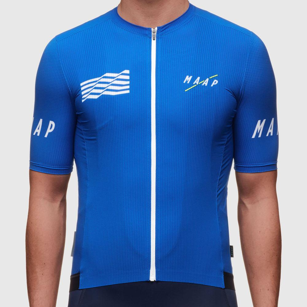 SPEXCEL TOP QUALITY PRO TEAM seamless Process new mesh fabric cycling jersey pro fit road bicycle clothing blue navy