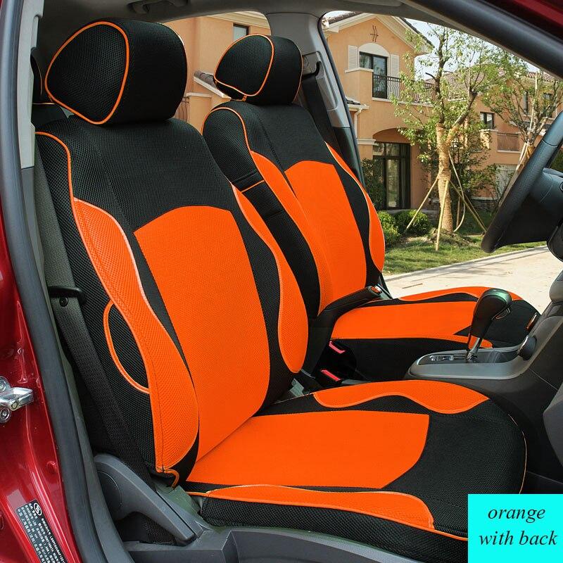 Специальная крышка сиденье автомобиля для Citroen c4 c5 c2 c3 Слейте черный/серый/красный автомобильные аксессуары укладки четыре сезона вообще а