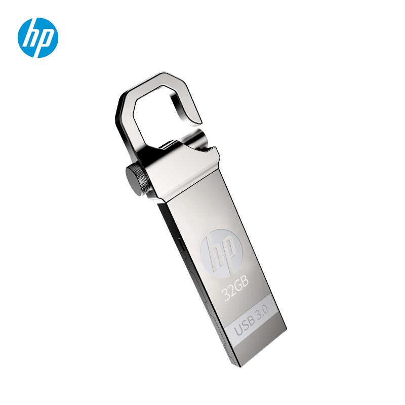Original HP usb flash drive 32 gb de metal Pen drive 32 GB com frete gratis logotipo personalizable diy dragón Águila de alta velocidad Pendrive