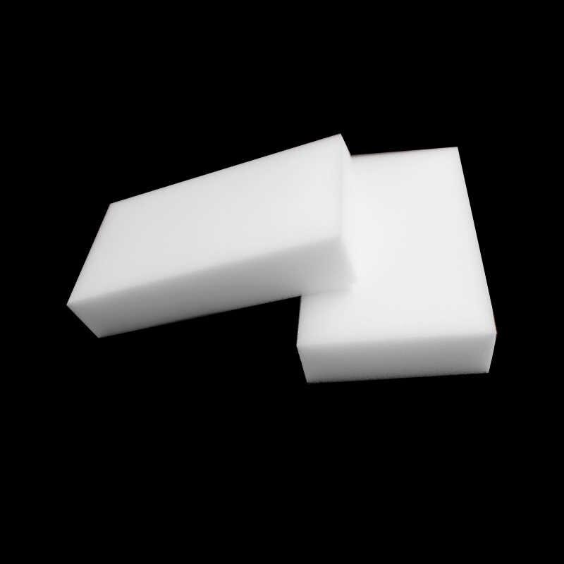 20 Pcs/lot Multi-Fungsi Magic Melamine Sponge Eraser Cleaner Membersihkan Spons Dapur Kamar Mandi 80X50X30 Mm putih