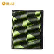 BEIJUE New Arrival Fashion Brand Design Genuine Leather And Plastic Short font b Wallet b font
