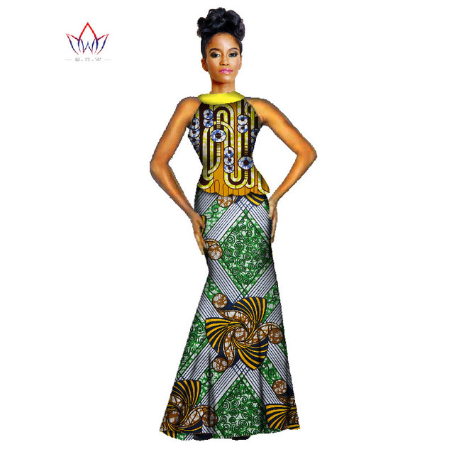 Mermaid African Dress
