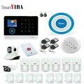 SmartYIB приложение управление LCD Wifi умный дом противоугонная GSM сигнализация Система sms-уведомления домашняя охранная сигнализация Беспроводн...