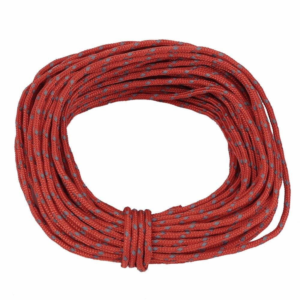 strengthed mm reflectante cuerda a prueba de viento cuerda de la tienda al aire