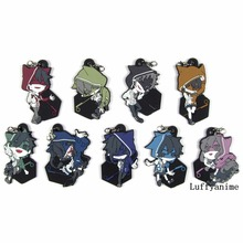 цена на Kagerou Project Rubber pendant MekakuCity Actors Japanese anime cartoon PVC Toy Figures Mobile Phone Accessories strap Keychain