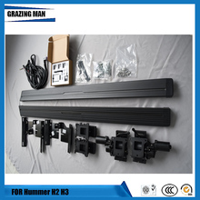 aluminium Automatic scaling Electric pedal side step running board for Hummer H3 2006+