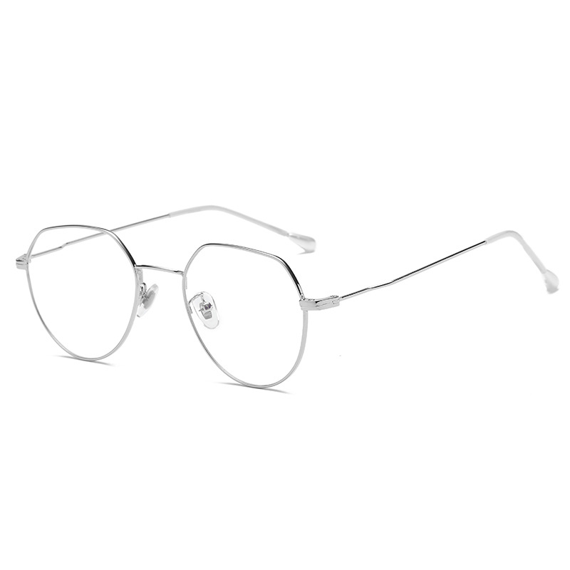 Europe and the United States new metal irregular reading mirror retro pearl ladies glasses myopia glasses XBZ1-XBZ6