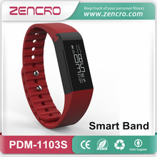 Incoming Call SMS Reminder Smart Pedometer Wristband Fitness Activity Tracker