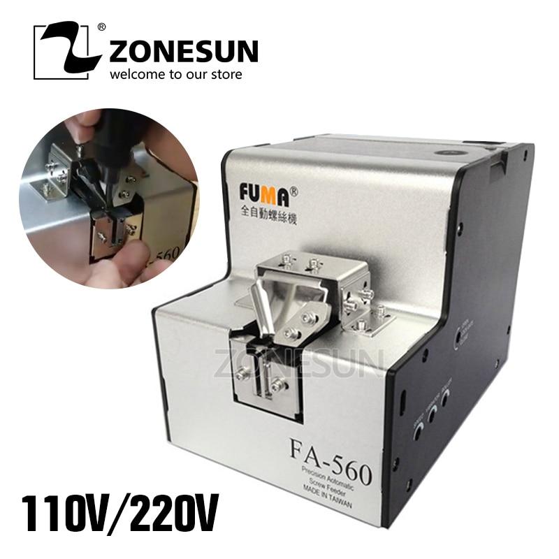 купить 110V/220V Automatic Screw Feeder Machine Conveyor Screw Arrangement Machine / FA-560 1.0 - 6.0 mm по цене 8972.27 рублей