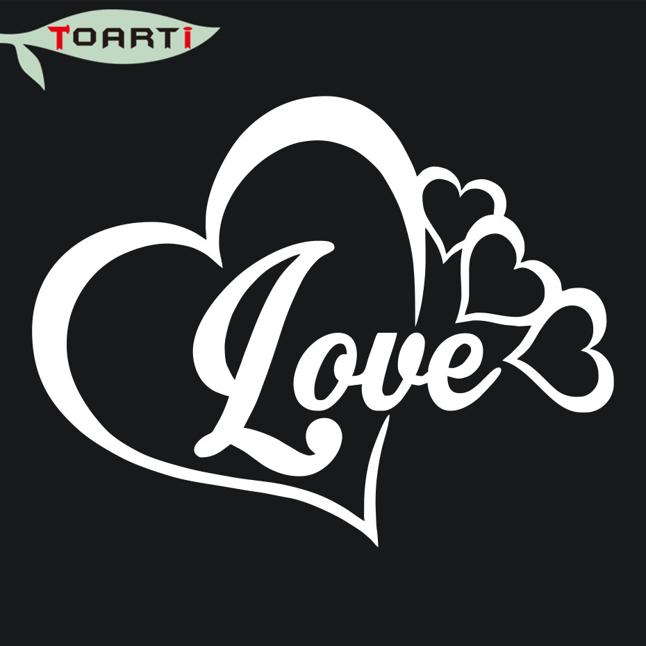 LOVE HEART INFINITY FOREVER SYMBOL VINYL DECAL CAR WINDOW BUMPER STICKER FAMILY