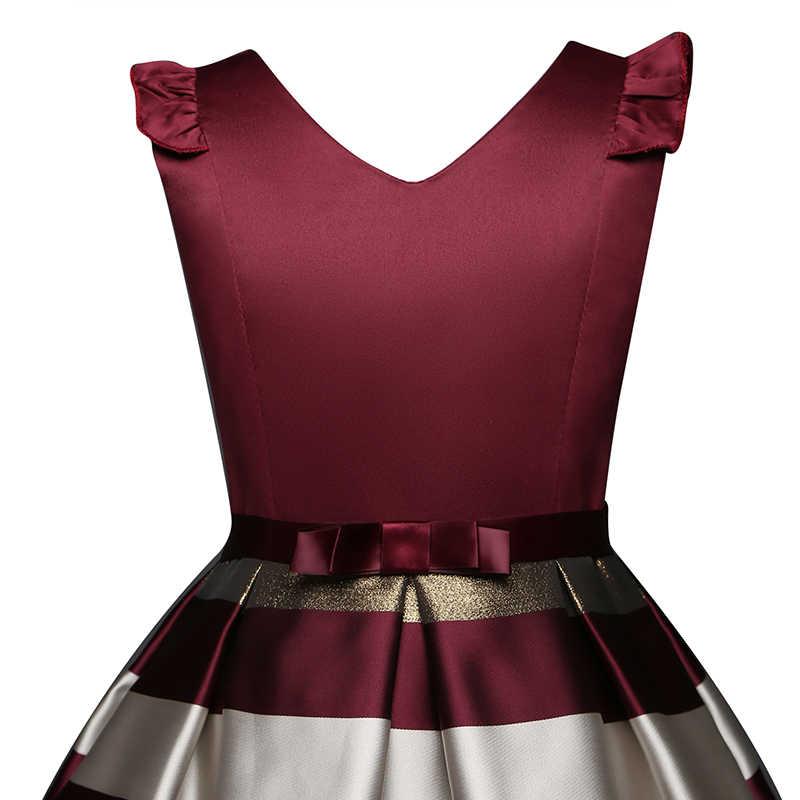 Элегантное платье с цветочным рисунком для девочек; праздничные платья для малышей; Детские платья для девочек; летние платья для выпускного вечера; детский нарядный Свадебный костюм для девочек; От 3 до 10 лет