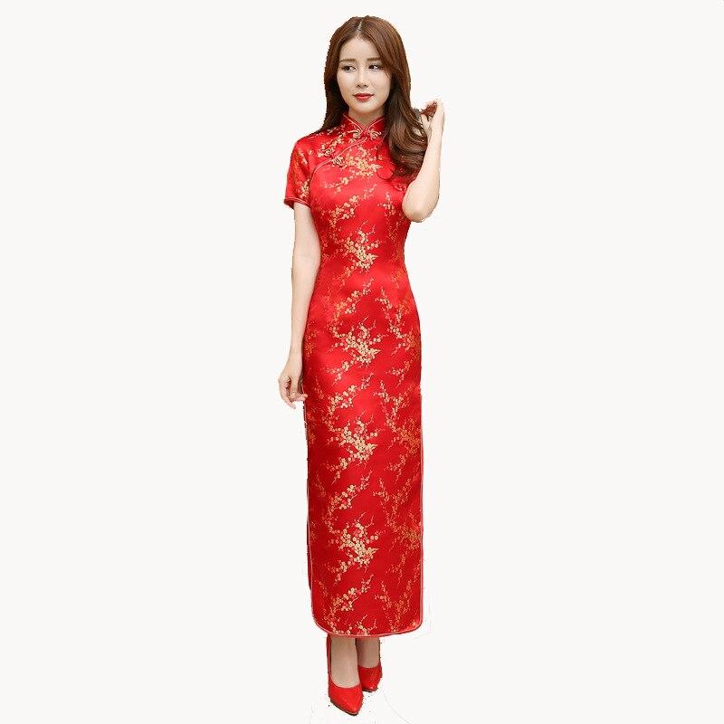 ac645534e top 10 red cheongsam qipao chinese list and get free shipping - 860ek571