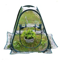 PVC foldable warm garden single layer mini home plant greenhouse cover waterproof UV flower