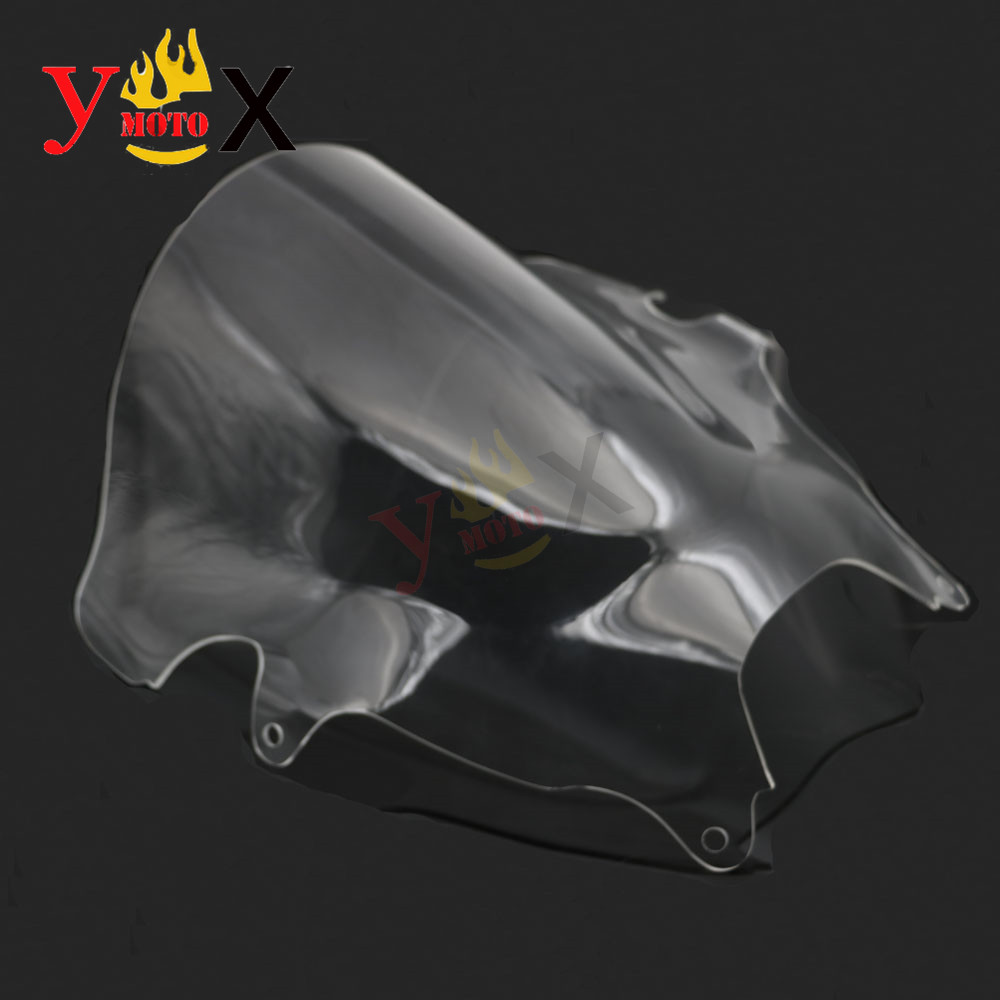 Clear ABS Windscreen Windshield Glass Airflow For Suzuki Bandit 600 GSF600S 2000-2005 Bandit 1200 GSF1200 <font><b>GSF1200S</b></font> 2001-2005 image