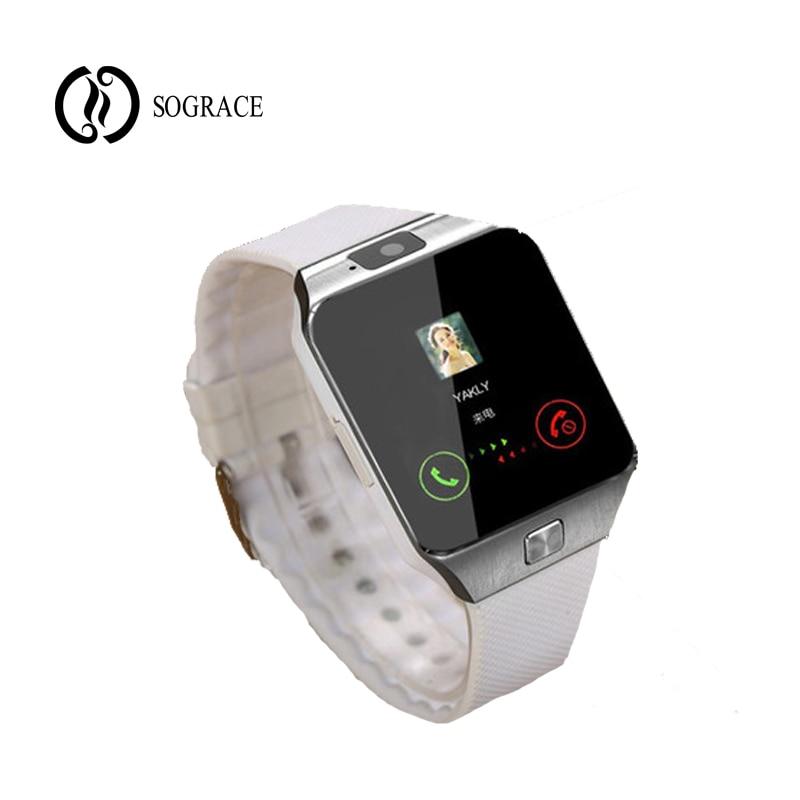 Astuto Della Vigilanza Dz09 Bluetooth Smartwatch Wearable Dispositivi Android Phone Call Sim Tf Uomini Del Braccialetto Delle Donne Orologi Per Il Telefono Android Sii Amichevole In Uso