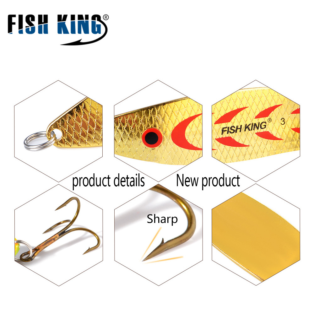 5pcs/lot mepps metal spoon spinner fishing lure wobblers for trolling bass  fishing trout spoon bait hard lures treble hook-in fishing lures from  sports
