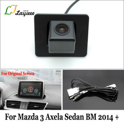 Backup-Kamera Für Mazda 3 Mazda3 Axela Limousine BM 2014 2015 2016 2017 2018 2019 Original Auto Bildschirm Kompatibel Rück kamera