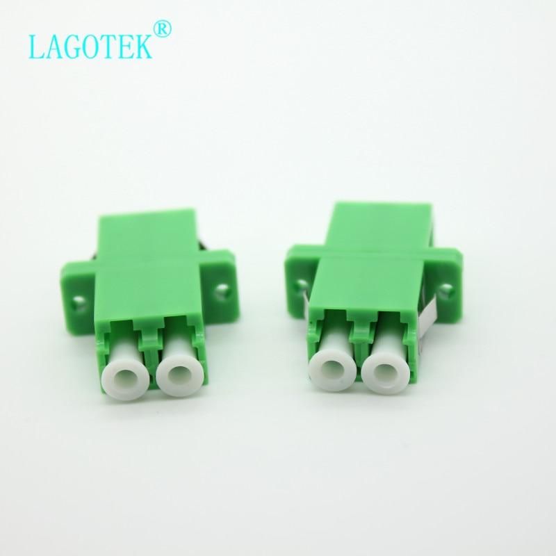 25/50/100/200 шт lc apc дуплексный одномодовый волоконно оптический