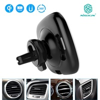10W Fast Qi Car wireless charger adjustable Phone Holder NILLKIN wireless Charging Pad For iPhone X 8+ For Samsung S8 S9 Plus