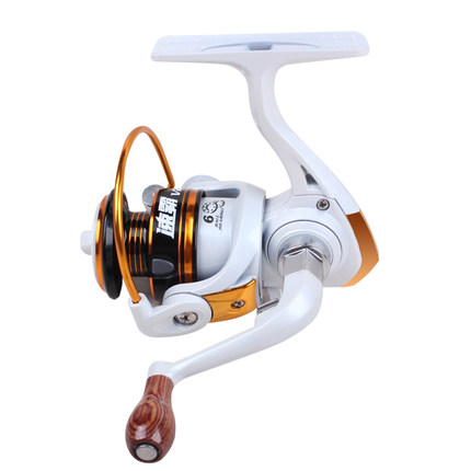 Risn v200 6BB Metal Spool Mini Fishing Reel 5.3:1 Winter Ice/raft Fishing Spinning Reels