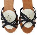 FGGS-1 Par Frente Punteada Mitad Plantillas para Zapatos Cojín Almohadillas de Látex
