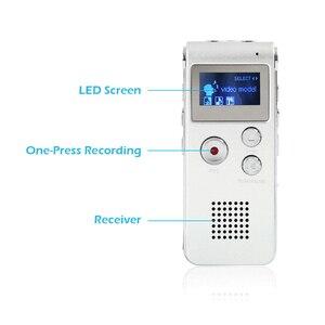Image 2 - 8 ギガバイトボイスレコーダー USB プロ 30 時間ディクタフォンデジタルオーディオ/サウンド/音声レコーダー Wav MP3 音楽プレーヤー