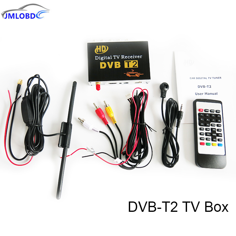 DVB-T2 TV Receiver Box For Car Android 6.0.1/5.1.1/4.4/4.2Car DVD Player For Russia Singapore Malaysia And Other DVB-T2 Reigon цена
