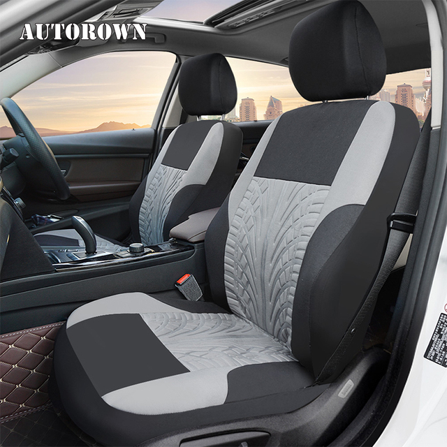 AUTOROWN Polyester Auto Seat Covers For Hyundai Chevrolet Toyota Lada Interior Accessories Universal Fit Most Car Seat Protector