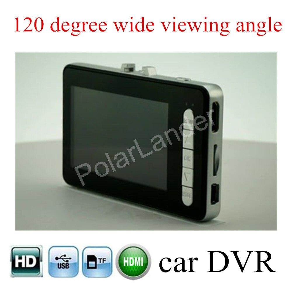 Accessoire de voiture 120 degrés large viewig angle véhicule voiture caméra DVR Full HD enregistreur vidéo enregistreur Vision nocturne voiture caméscope
