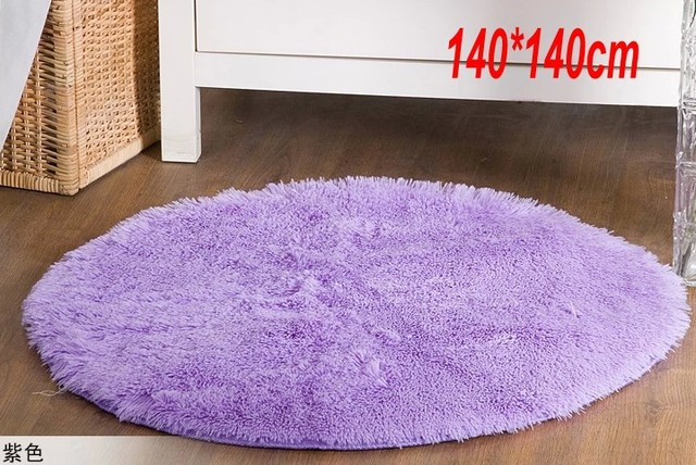 lilac round rugs on sale 140140cm round violet carpet baby room carpet design home