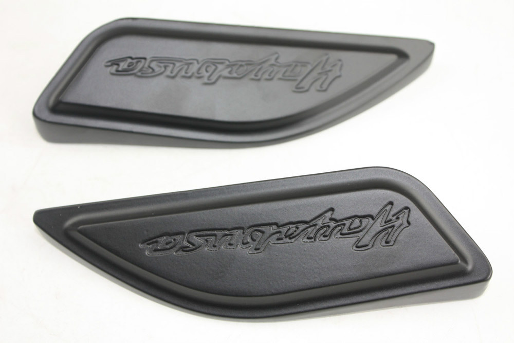 Motorcycle Tank Pads Center Cover For Suzuki Hayabusa GSXR1300 1986-2012 BLACK suzuki santana suzuki 1986
