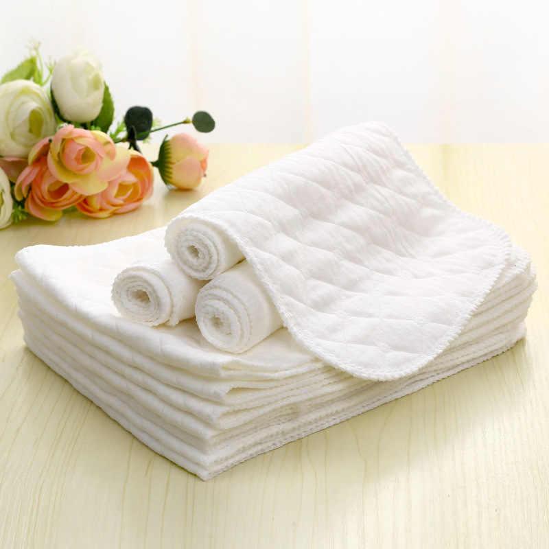 45*16cm 3 Camadas Lavável Fralda De Pano De Algodão Infantil Ecológica Mudando Resusable Fraldas Cuidados Com o Bebê de Fraldas do bebê Recém-nascido Acessório