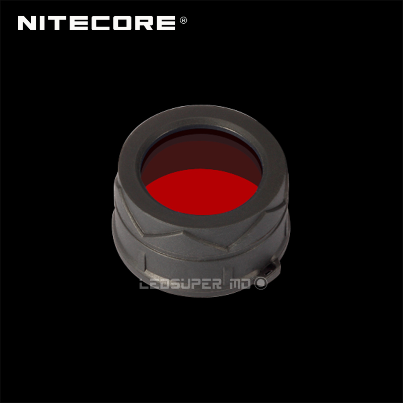 Flashlight External Accessories Nitecore NFR34 / NFB34 / NFG34 / NFD34 Multicolour Filter Suitable for Torch with Head of 34mm